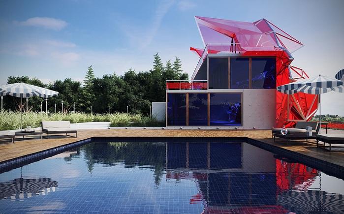 «Мадам Сюр» - концепция нового особняка от российского дизайнера Василия Клюкина.