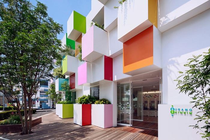 Проект архитектурной фирмы Emmanuelle Moureaux Architecture + Design.