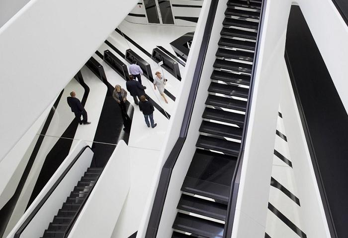 Доминион-М - проект Zaha Hadid в Москве.