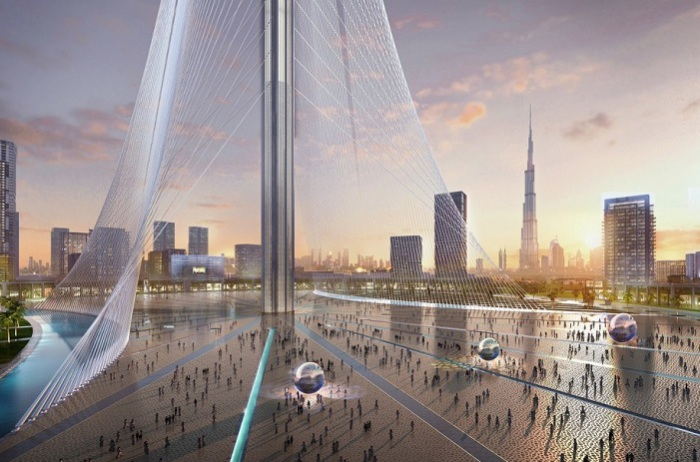 Проект смотровой башни от архитектора Сантьяго Калатравы.