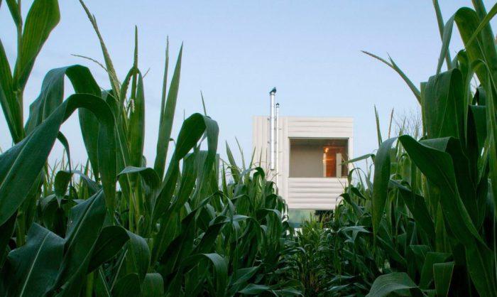 Архитекторский проект американской фирмы Wendell Burnette Architects.