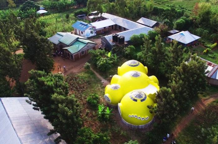 Дом волонтеров в Кении.