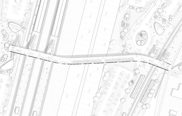 «Kоge North Station». План строительства.