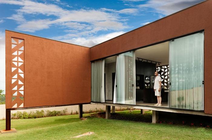 Casa Clara - дом в Бразилии.