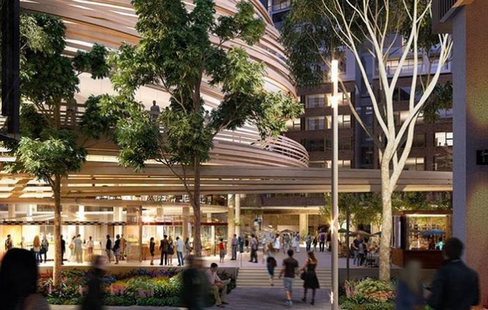 Здание будущей библиотеки в Сиднее (Австралия).