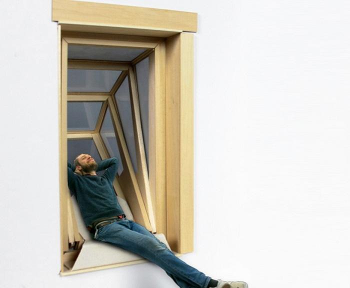 Окно-балкон More Sky может иметь раздвигаться в трех положениях.