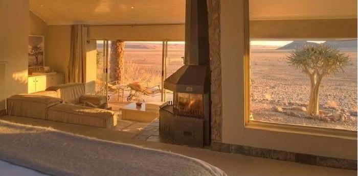 Sossusvlei Desert Lodge - европейский комфорт с африканским колоритом.