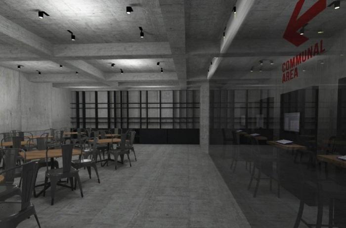 Refugee Hospitality Center. Внутренние помещения.