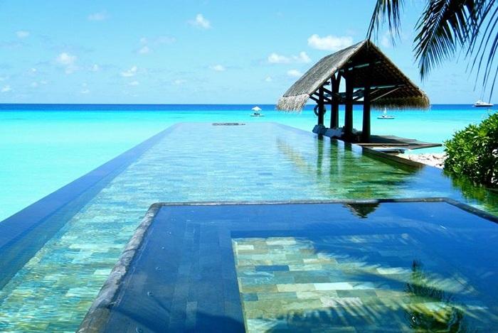 Бассейн, расположенный в отеле One and Only Resort.