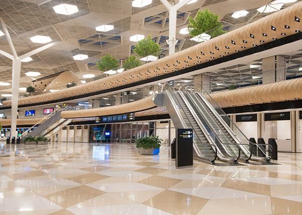 Ромбовидное оформление терминала.