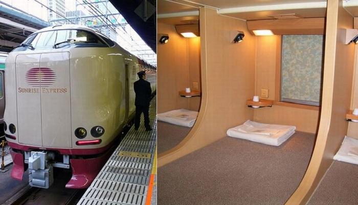 Sunrise Izumo/Seto - японский ночной поезд.