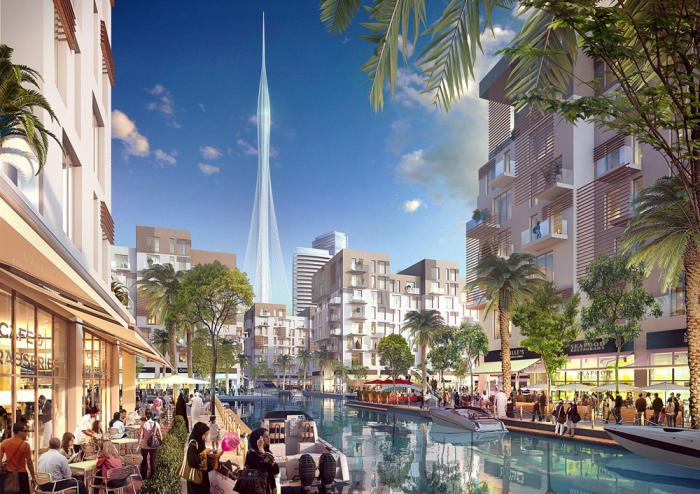 Самая высокая башня в мире строится в Дубаи.