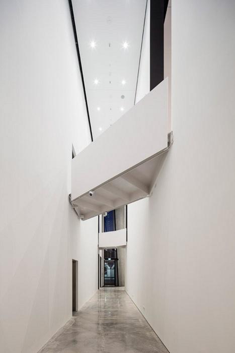 Len Lye Museum. Внутреннее оформление.