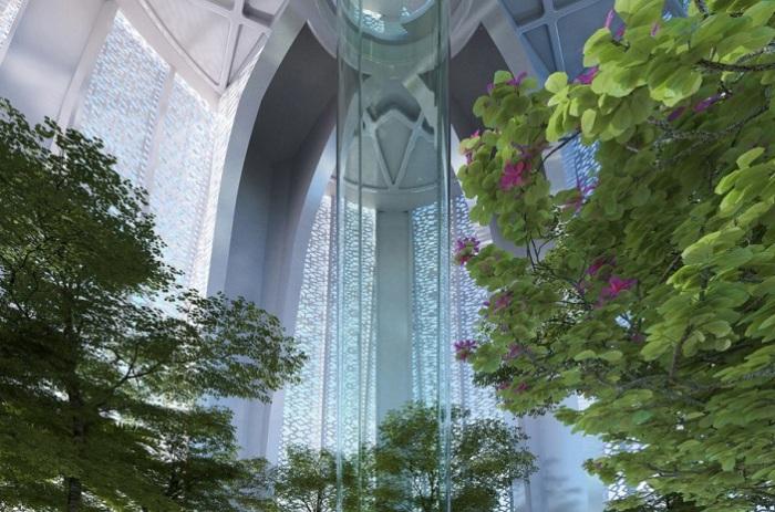 Смотровая башня в Дубаи. Проект.