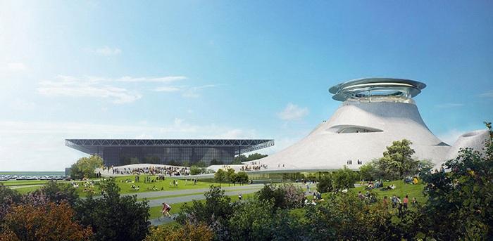 Проект архитектурной фирмы MAD Architects и George Lucas.