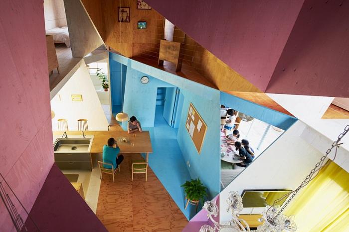 Проект архитектурной студии Kochi architect's studio.
