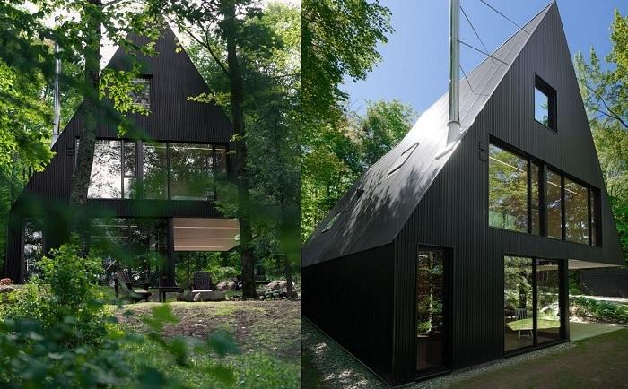 FAHouse - жилой дом в окрестностях Квебека (Канада).