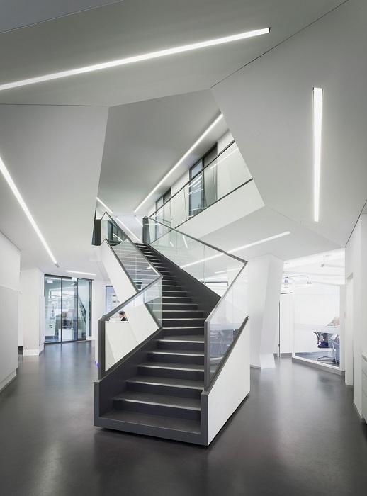 «Sonnenhof». Геометрический дизайн помещений.