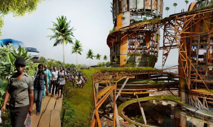Антиутопический проект от нигерийского архитектора.
