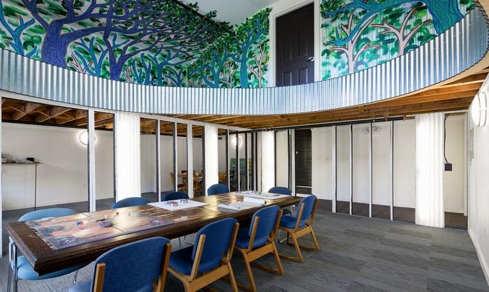 Обновленный дизайн школы в Нью-Гемпшире (США).