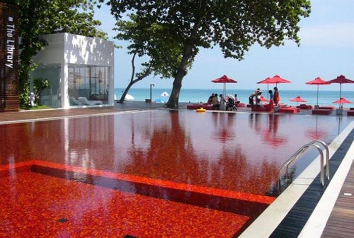 Library Pool в отеле Boutique Beach Hotel в Кох Самуи.