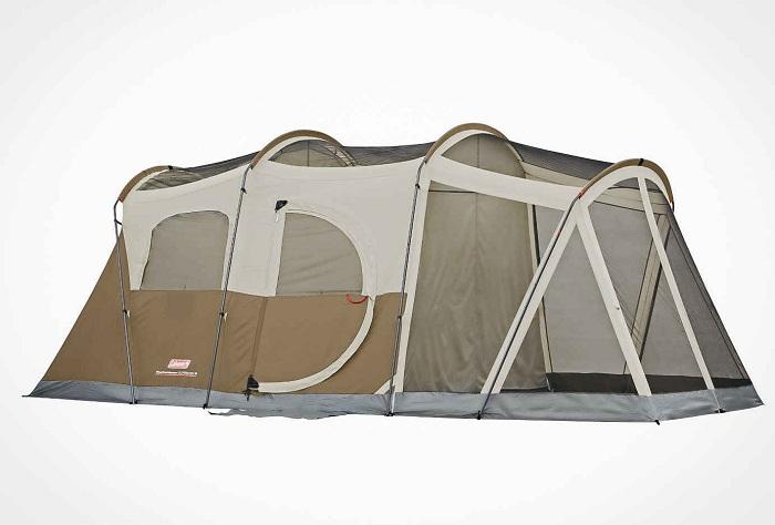 Coleman WeatherMaster Screened 6 - палатка для весёлой компании.