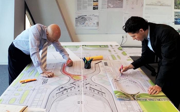 Проектирование одного из самых больших аэропортов мира.