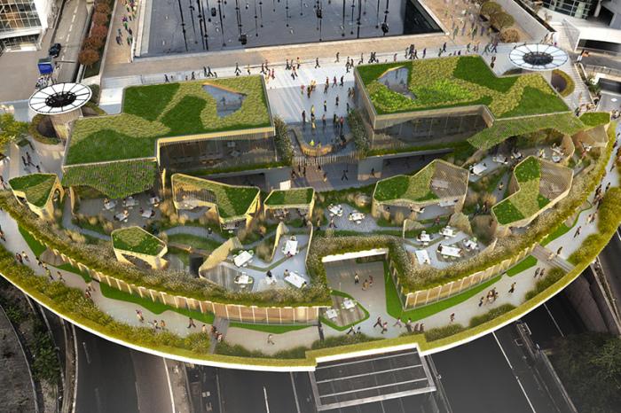 Архитекторский проект студии дизайна Stephane Malka Architecture.