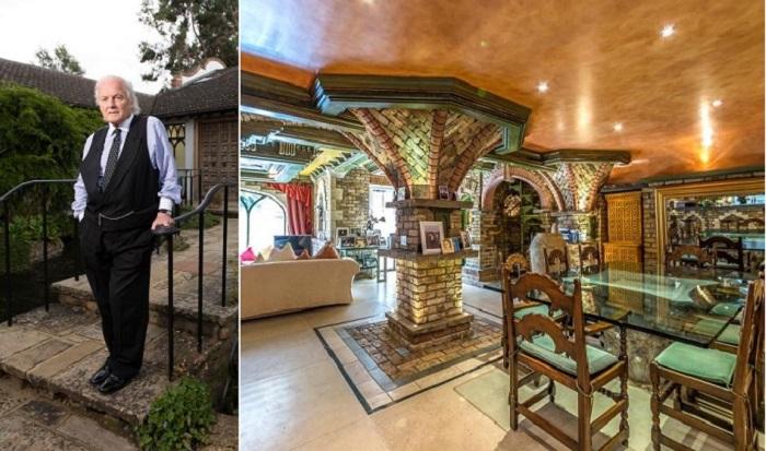 Мужчина 30 лет потратил на то, чтобы превратить свой дом в венецианский дворец.