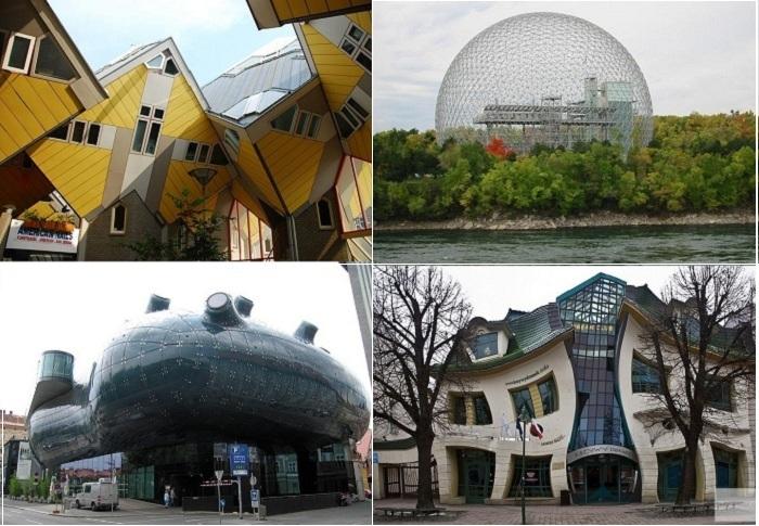 Самые оригинальные архитектурные постройки.