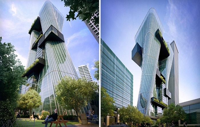 Проект офисного здания в Австралии.