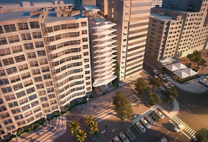 Проект архитектора Zaha Hadid.