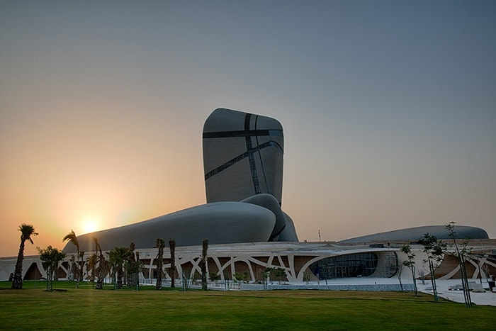 King Abdulaziz center for world culture - Центр мировой культуры короля Абдулазиза в Дахране (Саудовская Аравия).