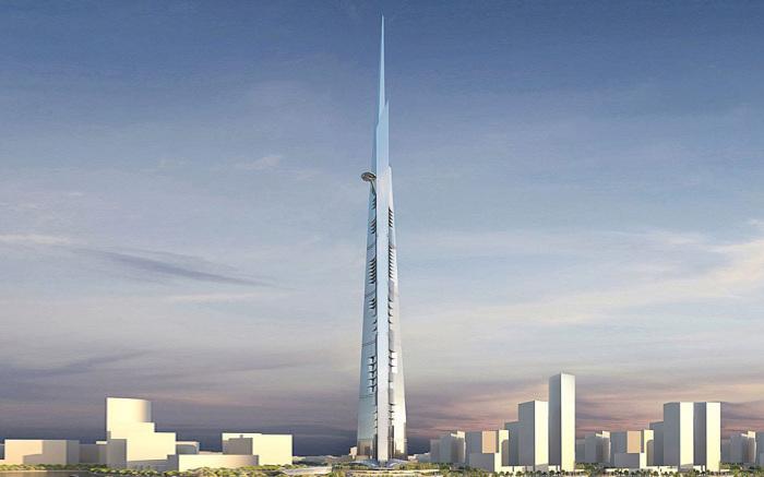 Jeddah Tower - проект самой высокой башни в мире.