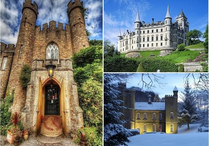 Средневековые замки-отели.