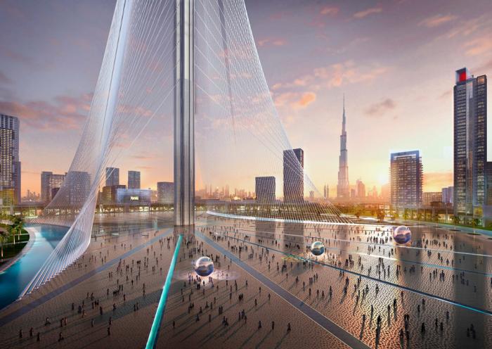 Высота нового небоскреба в Дубаи будет больше, чем Бурдж-Халифа.