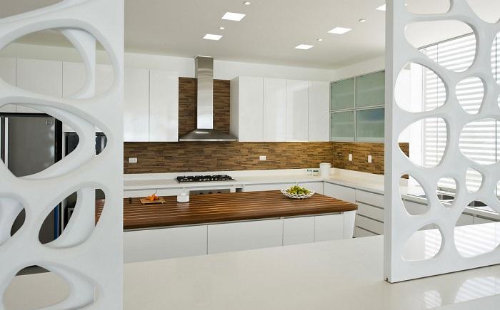 Casa V. Кухня.