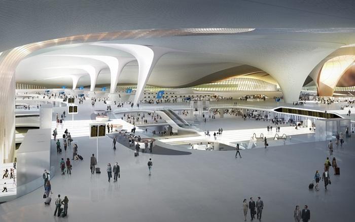 Пропускная способность терминала составит 45 млн. человек в год.