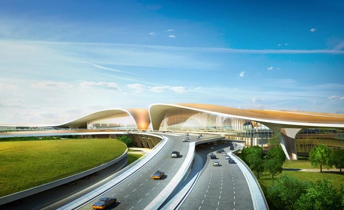 Международный аэропорт в Пекине будет иметь самый большой терминал в мире.