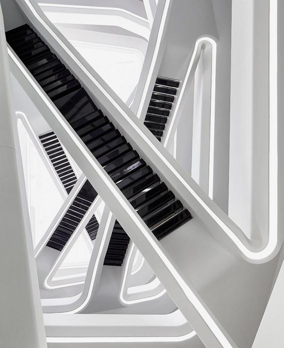Архитекторский проект от Zaha Hadid.
