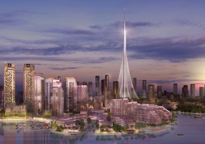 Проект небоскреба испанского архитектора Santiago Calatrava.
