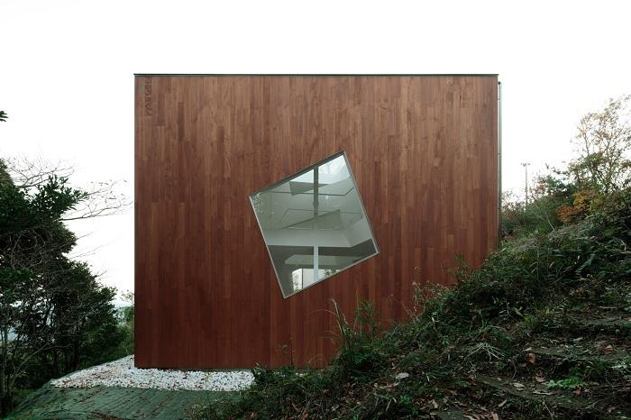 Villa Kanousan - загородная вилла на японском полуострове.