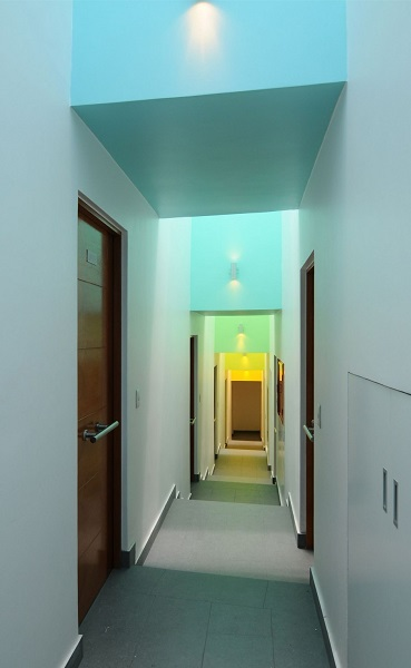 Lofts Yungay II. Зонирование коридора.