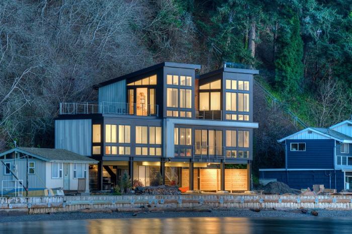 Архитекторский проект фирмы Design Northwest Architects.