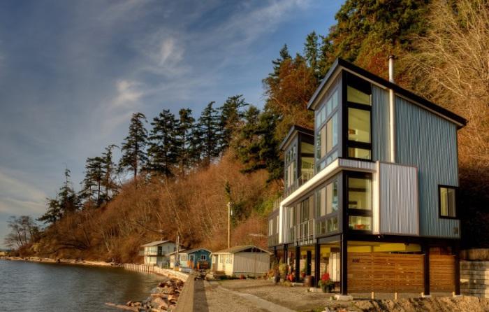 Дом, построенный архитекторами фирмы Design Northwest Architects.