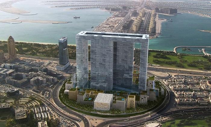 Жилой комплекс Dubai Pearl.