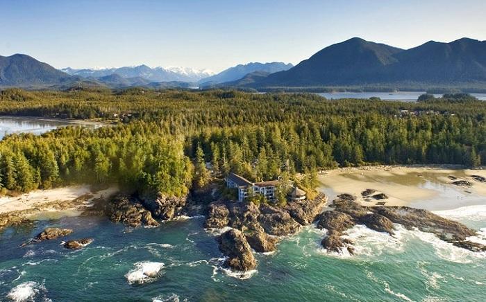 Wickaninnish Inn - отель на суровых канадских берегах.