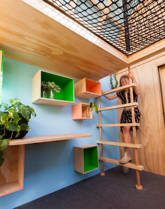 Игровое пространство в домике Vardo Hut.