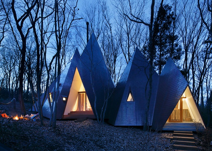 Загородный дом от яонского архитектора Хироши Накамура.