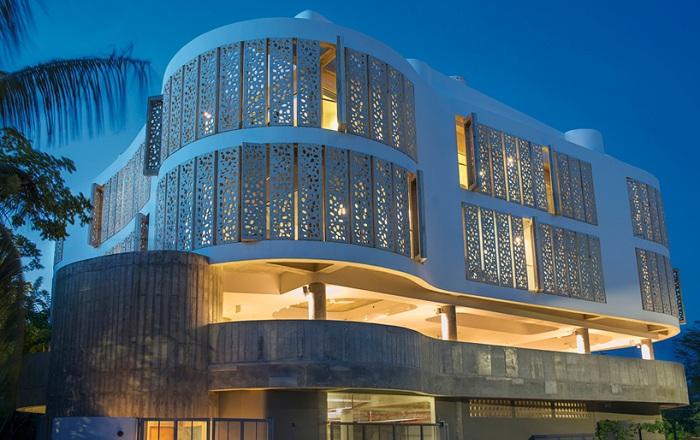 Проект архитектурной фирмы FUSTER + Architects.